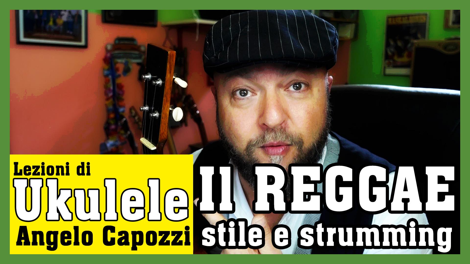 La musica Reggae con l'ukulele: tutorial ritmico.